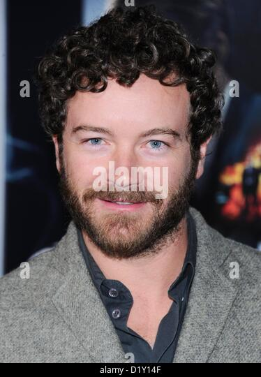 Danny Masterson arrives at the film premiere for 'Gangster Squad' at the Chinese Theatre in Hollywood, USA - Stock Image