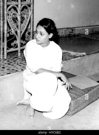 Indian bollywood actress, jaya bhaduri bachchan, mumbai, maharashtra, india, asia - Stock Image