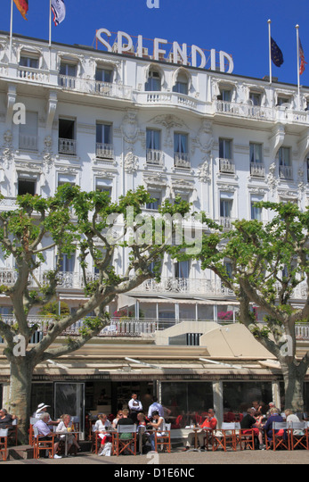 Hotel Splendid, Cannes, Alpes Maritimes, Provence, Cote d'Azur, French Riviera, France, Europe - Stock Image