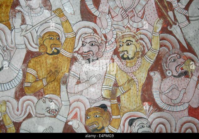 Dambulla Tempel - Stock-Bilder