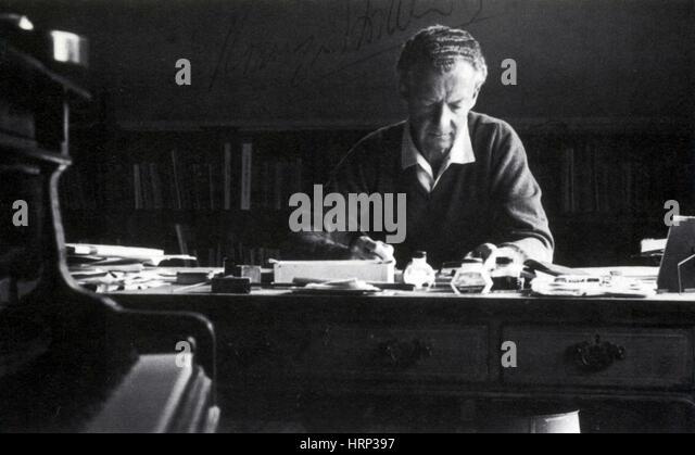 Benjamin Britten, English Composer - Stock Image