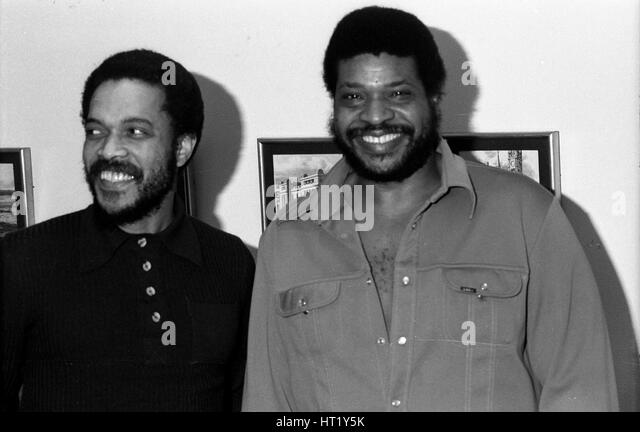 George Coleman and Billy Higgins, London, 1976.   Artist: Brian O'Connor. - Stock Image