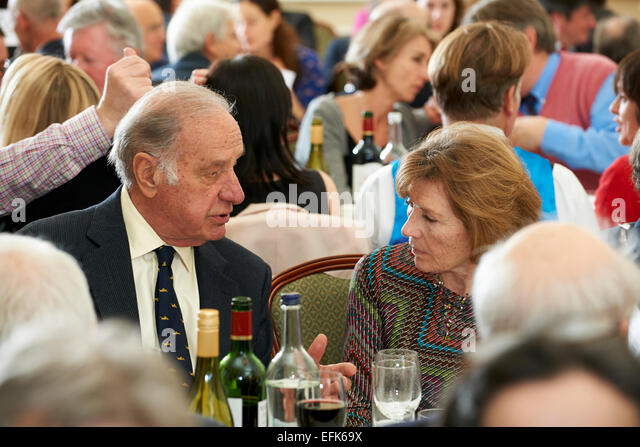 Geoffrey Palmer & Margaret Crick at the Oldie of the Year Awards 2015 - Stock Image