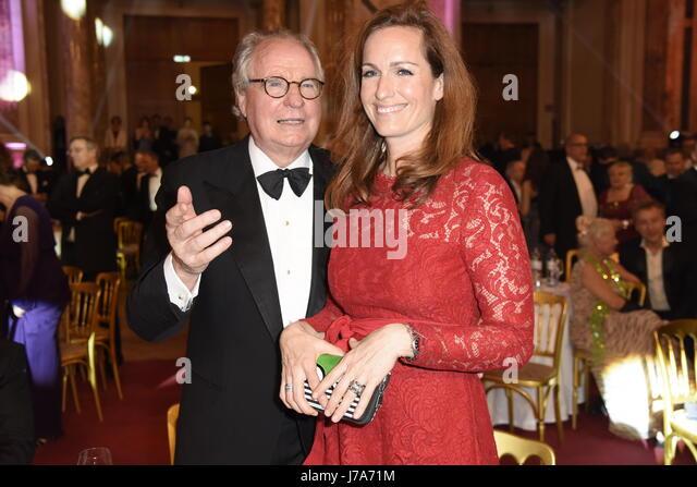 Kurier Romy 2017 at Hofburg.  Featuring: Friedrich von Thun mit Tochter Gioia von Thun Where: Vienna, Austria When: - Stock-Bilder