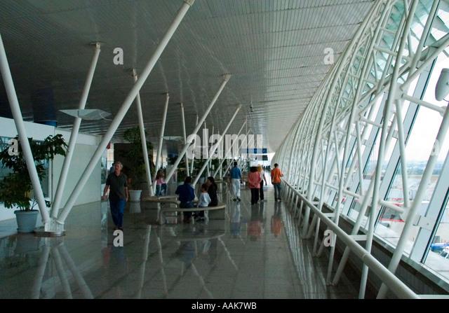 Brasilia's International Airport top floor - Stock Image