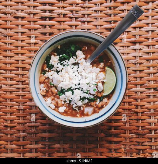 Posole Soup - Stock Image
