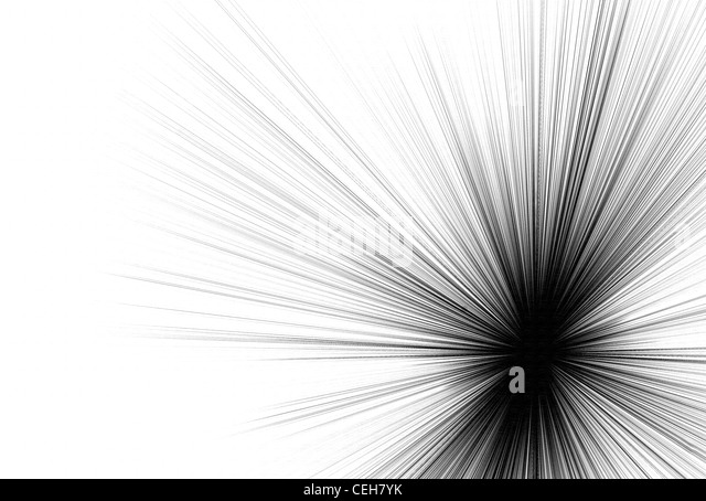 Beautiful abstract black and white background - Stock Image