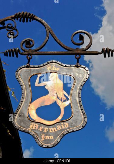 4036. The Mermaid, Rye, Sussex, UK - Stock Image