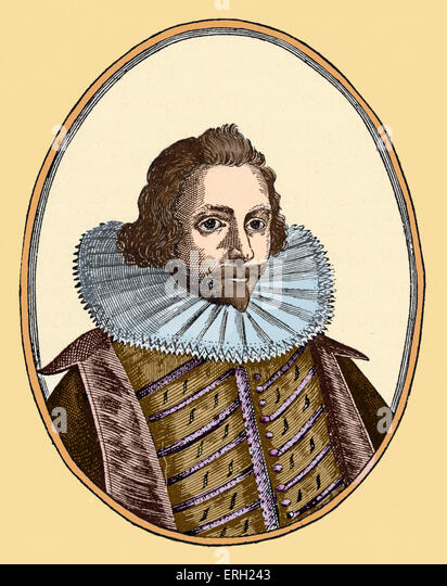 Sir Philip Sidney - portrait - English poet and sonnet writer - 30 November 1554 - 17 October 1586. Colourised version. - Stock Image