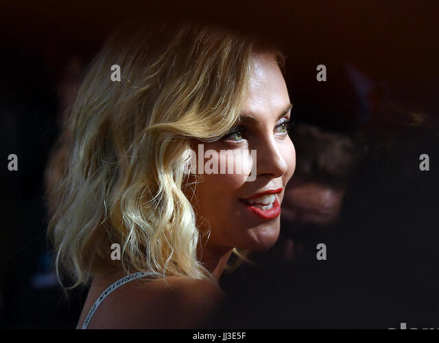 Berlin, Germany. 17th July, 2017. Actress Charlize Theron at the world premiere of the American spy action thriller - Stock Image