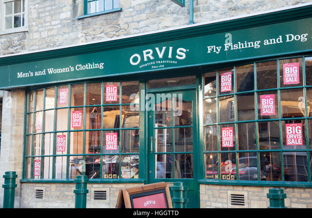 Orvis clothing stores