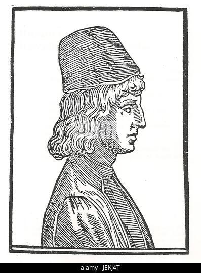 GIOVANNI PICO de MIRANDOLA (1463-1494) Italian nobleman and philosopher - Stock-Bilder