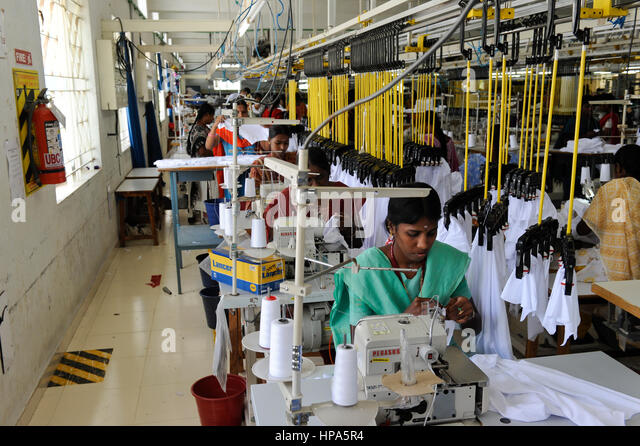 Knitting Units In Tirupur : Cotton fire stock photos images alamy