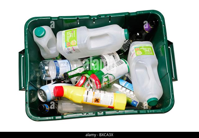 Christmas Tree Recycling Gloucester : Recycling bin uk stock photos