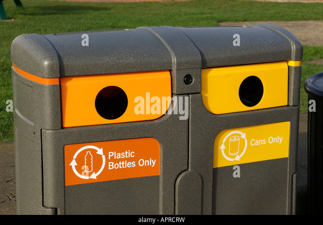 Recycle bin - Stock Image