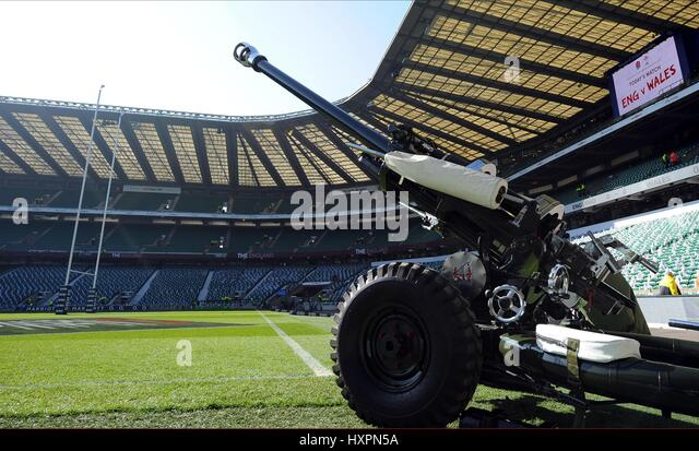 THE HONOURABLE ARTILLERY COMPA ENGLAND RU V WALES ENGLAND RU V WALES RU TWICKENHAM LONDON ENGLAND 09 March 2014 - Stock Image