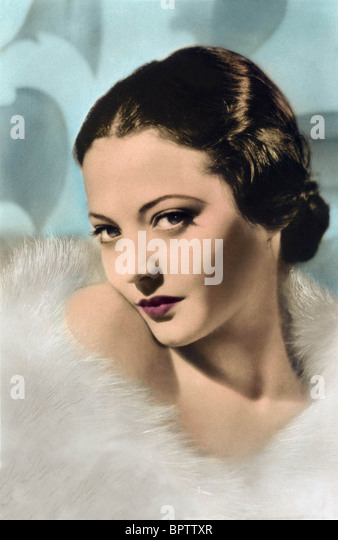 SYLVIA SIDNEY ACTRESS (1936) - Stock Image