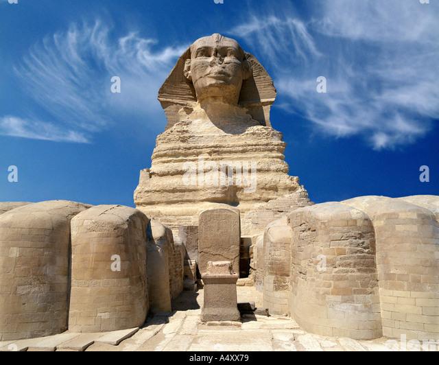EG - CAIRO: The Sphinx at El Giza - Stock Image