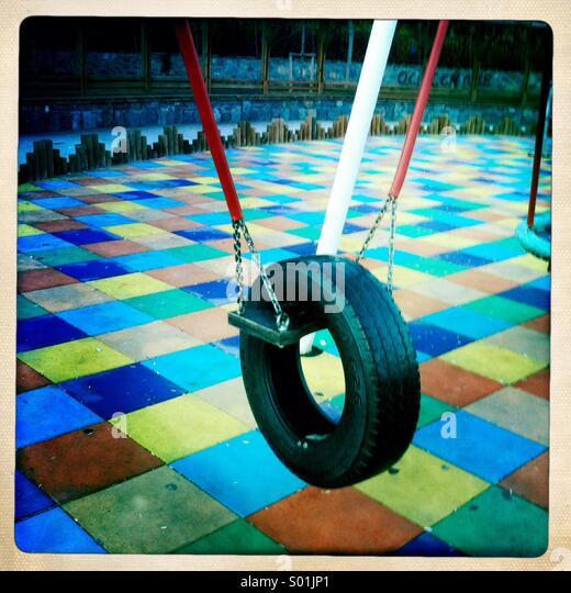 Wheel swing - Stock-Bilder