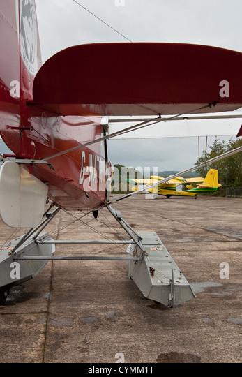 Christen A-1 Husky seaplane - Stock-Bilder