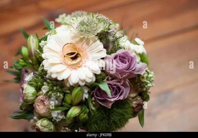 bridal bouquet - Stock Image