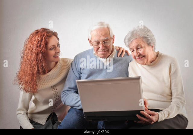 how to use a laptop for seniors