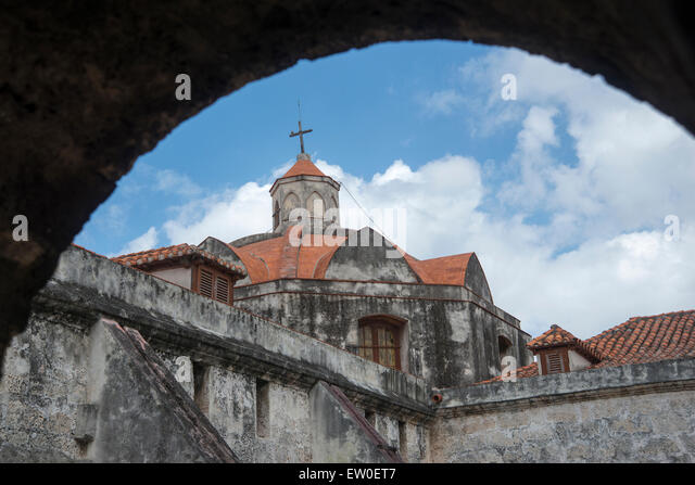 The Cathedral of Havana - Stock Image