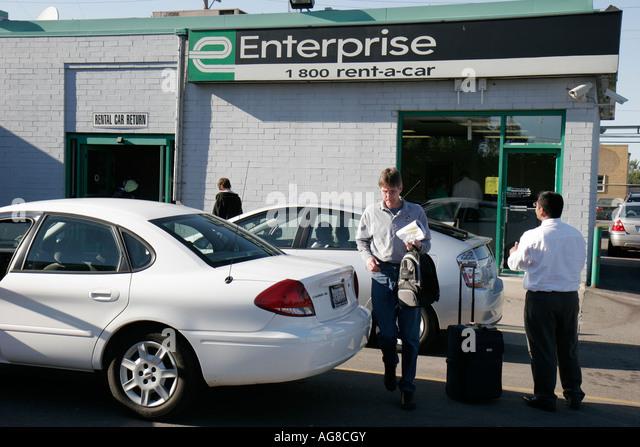 O Hare Airport Enterprise Rent A Car Location
