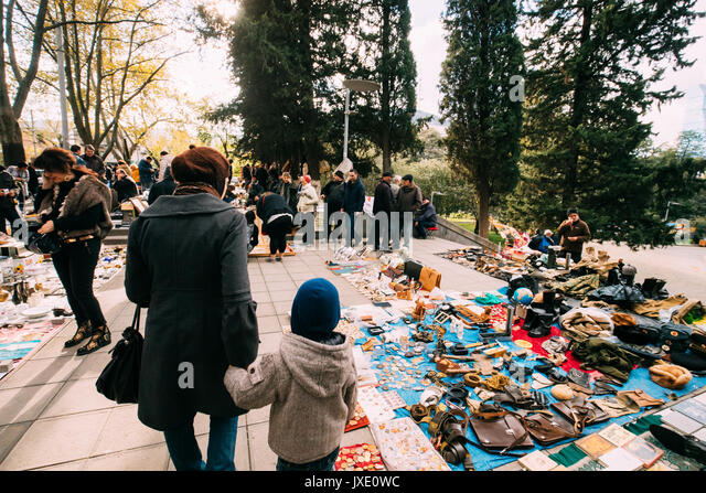 Georgia Tbilisi Flea Market Stock Photos Georgia Tbilisi: Swap Meet Stock Photos & Swap Meet Stock Images