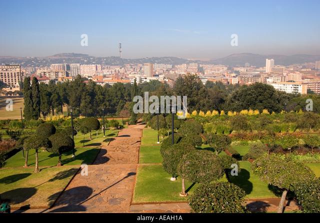 Pretoria city Arcadia - Stock Image