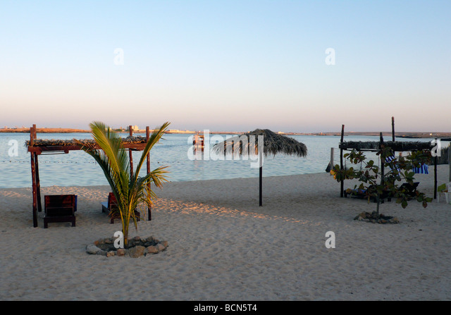 oman turtle beach resort ras el had - Stock Image