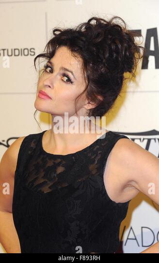 London. UK. Helena Bonham Carter  at the Moet British Independent Film Awards.  Old Billingsgate Market.  6th December - Stock Image