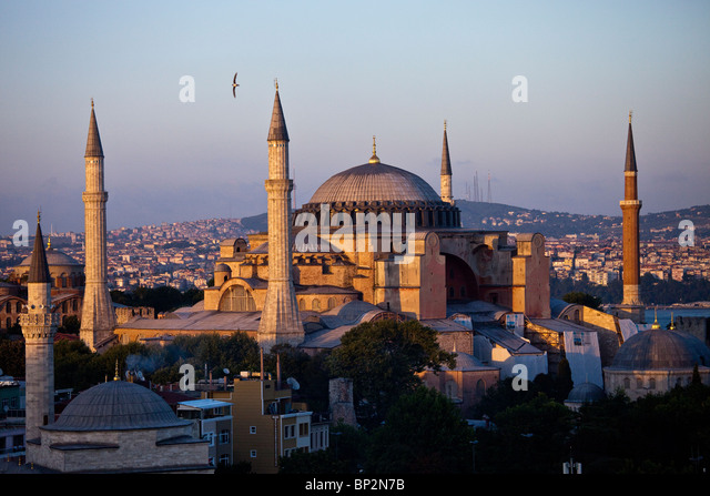 Hagia Sophia, Istanbul, Turkey - Stock Image
