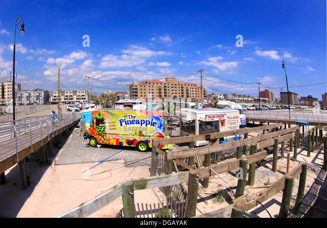 Long Beach Boardwalk Food Trucks