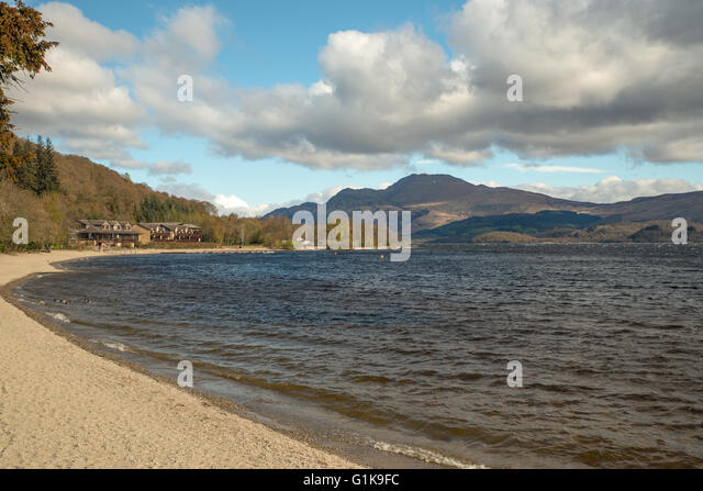 Loch Lomond United Kingdom  City pictures : Luss Loch Lomond Scotland United Kingdom Stock Image
