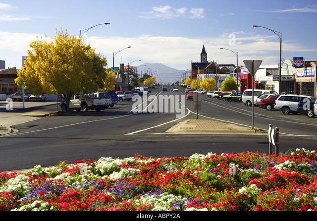 Country Town Roundabout Stock Photos Country Town