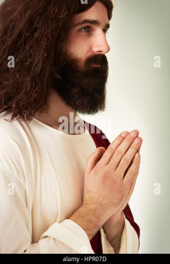 The man of very humble and modest heart - Stock Image