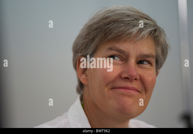 MP Kate Green, Member of Work and Pensions Select Committee, partakes in a panel discussion on social justice the - Stock Image