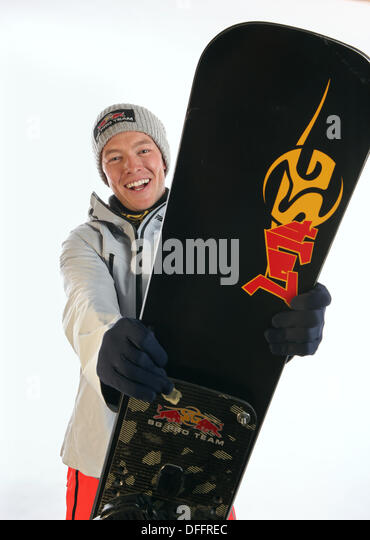 Park City, Utah, USA. 3rd Oct, 2013. Justin Reiter. 32 from Truckee, California - Snowboard - PGS, PSL. USOC Olympic - Stock Image