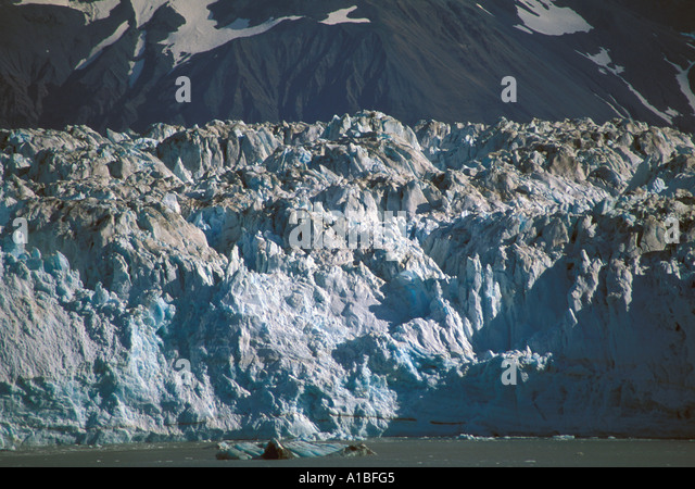 Alaska inside passage hubbard glacier - Stock Image