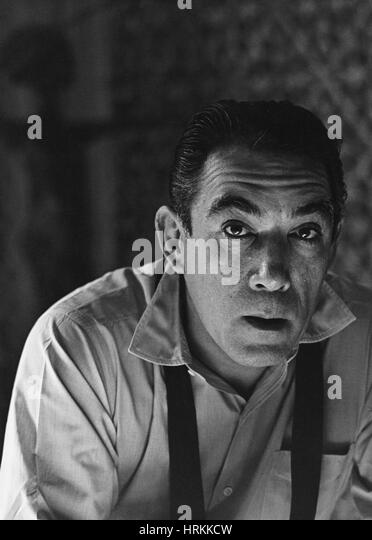 Anthony Quinn, Hollywood Movie Star - Stock Image