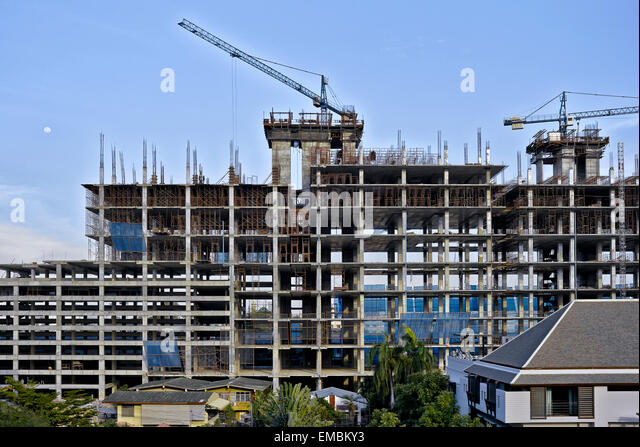 Early stages stock photos early stages stock images alamy for Stages in house construction