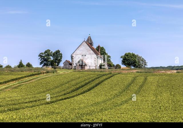 St Hubert?s Church, Finchdean, Waterlooville, Hampshire, England, UK - Stock-Bilder