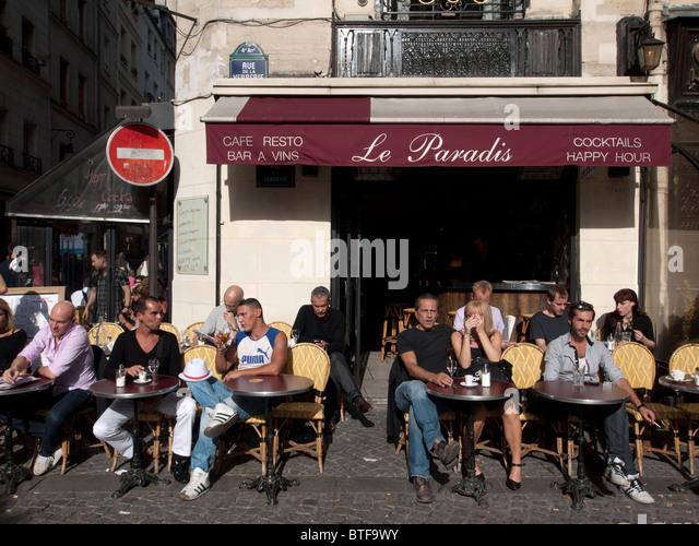 Cafe De Paris Rue De Buci Menu