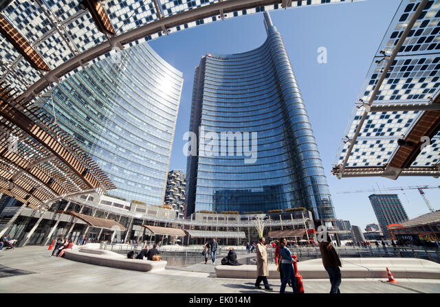 Gae stock photos gae stock images alamy - Milano grattacieli porta garibaldi ...