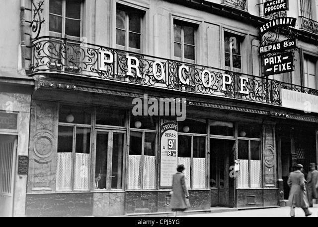 Le Procope Cafe Paris