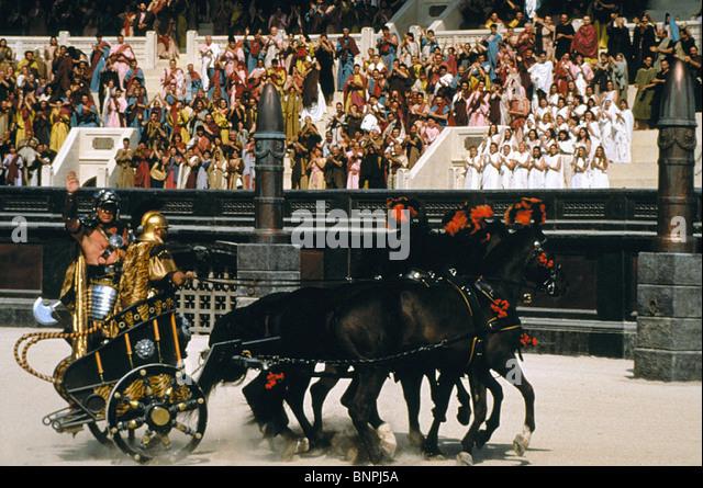 CHARIOT SCENE GLADIATOR (2000) - Stock Image