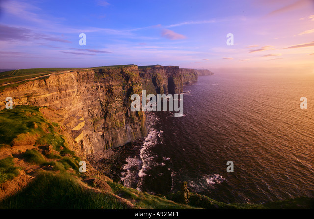 Cliffs of Moher County Clare Eire - Stock-Bilder