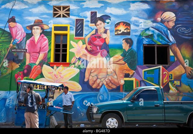 Esteli stock photos esteli stock images alamy for Mural nicaraguense