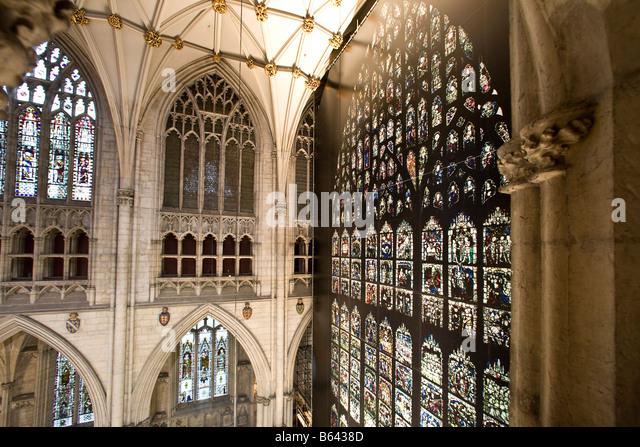 York minster stock photos york minster stock images alamy for West window york minster